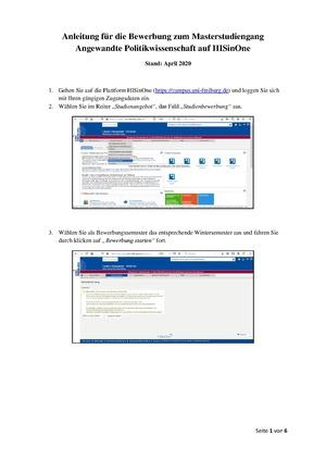 Universitat Hildesheim Bewerbungsportal Aktuelle 0